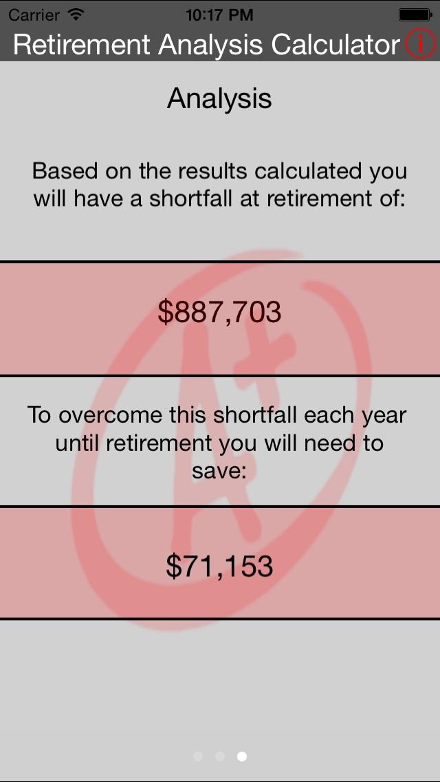 Retirement Analysis Calculator-2