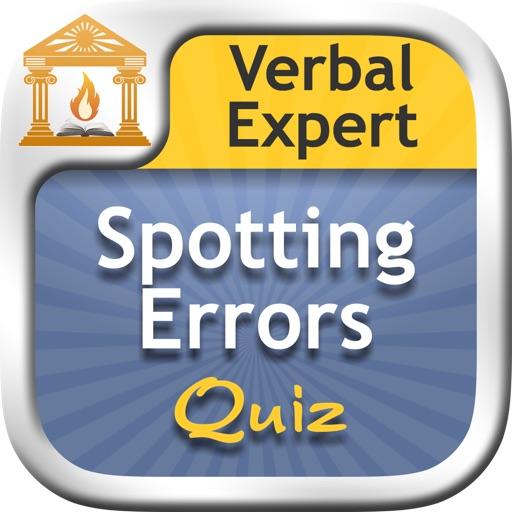 Verbal Expert : Spotting Errors FREE