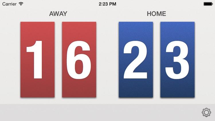 VBall Scoreboard