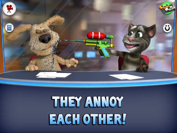 Talking Tom News for iPad screenshot-2
