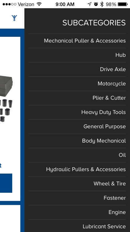 OTC Tools Catalog screenshot-2