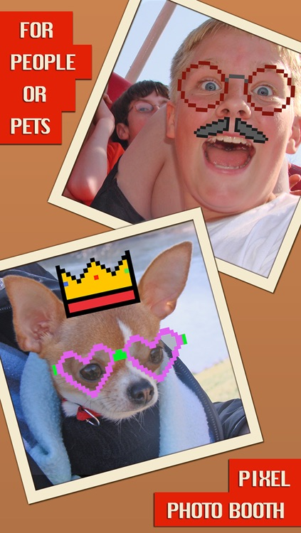 Pixel Photo Booth - Funny Picture Editing