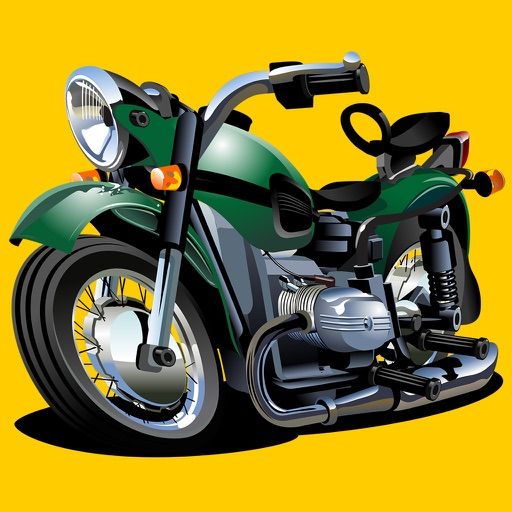 Motorbiker 3D - Take your bike and do stunts on the hills!