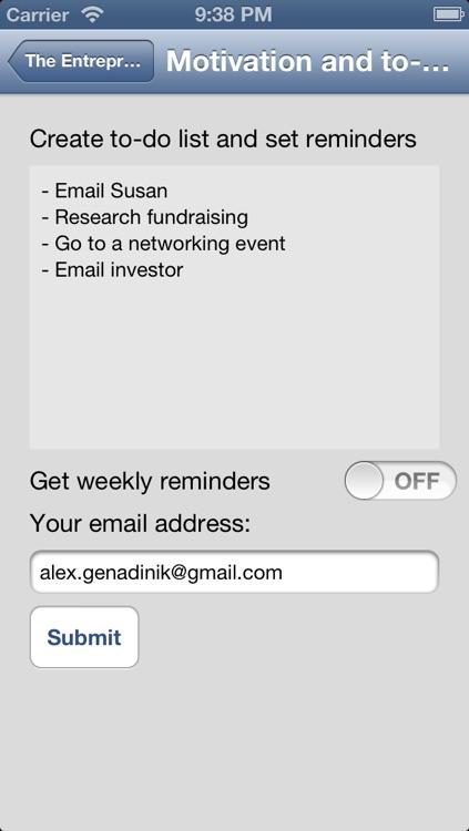 Entrepreneurs & Startup Community screenshot-3