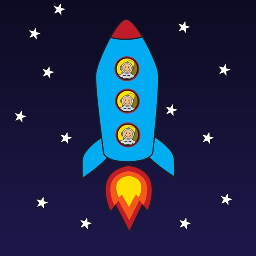 Blast Off Count Down for Kids