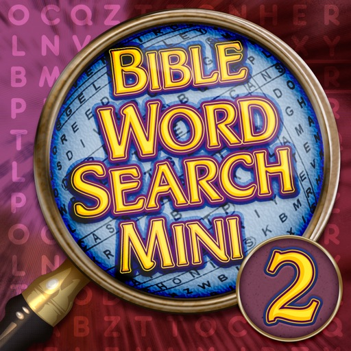 Bible Word Search Mini 2 - Seek and Find Puzzles icon