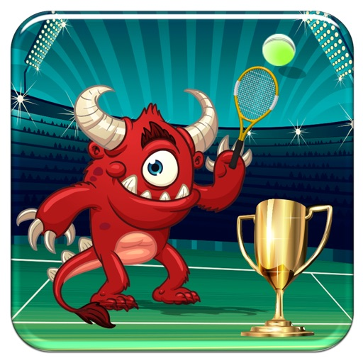 Monster Flick Tennis - A Creature Sport Arcade Game Full