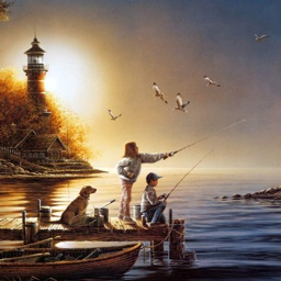 Fishing Wallpapers HD: Quotes Backgrounds Creator with Best Art Collections and Inspirations