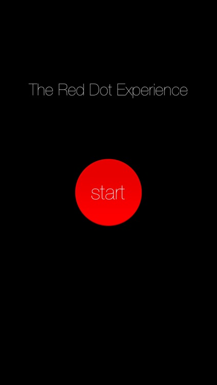 The Red Dot Experience