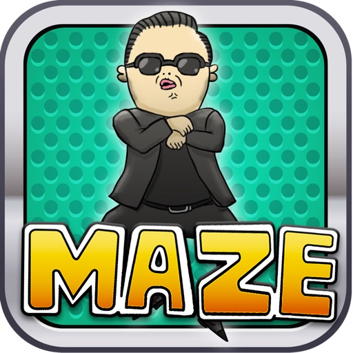 A Gangnam Style Korean Man Maze Game - Free version