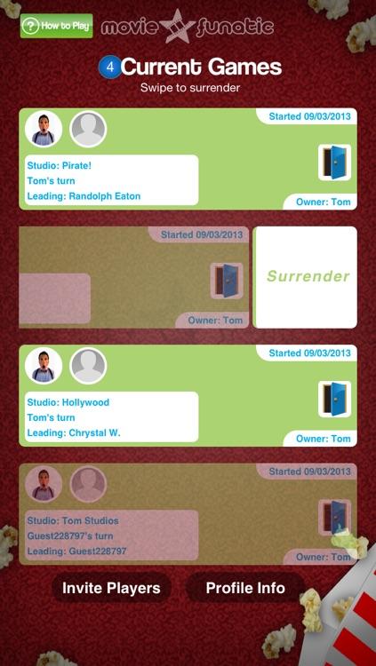 MovieFunatic - Free Multiplayer Social Movie Trivia Game