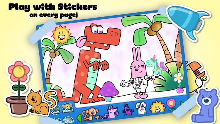 Wubbzy's Animal Coloring Book screenshot-3