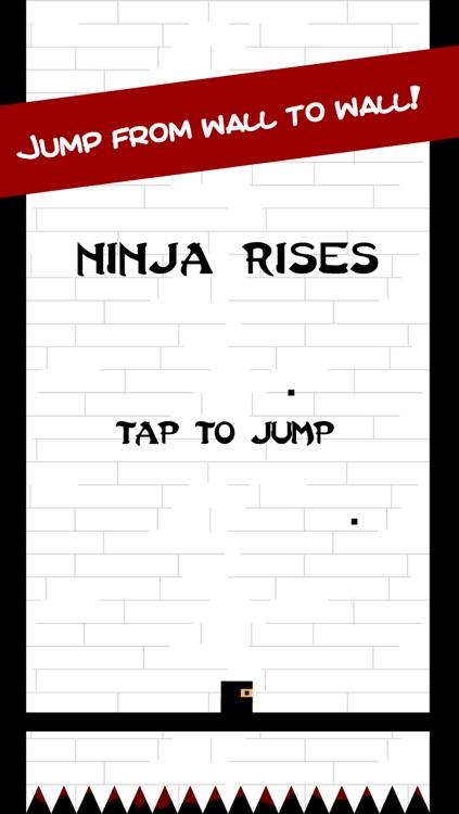 Bouncy Ninja Rises: Don't Touch The Black Tile Spikes