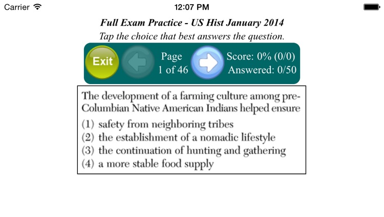 U.S. History Regents screenshot-1