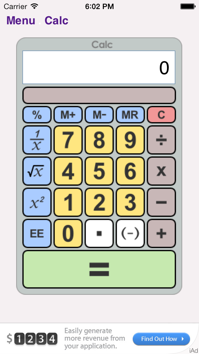 Calculator Collection Free BA.net screenshot one