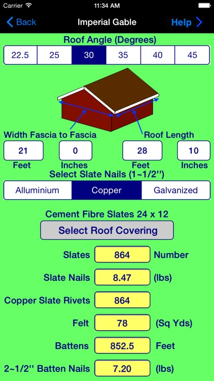 BuildersCalcsTimber screenshot-3