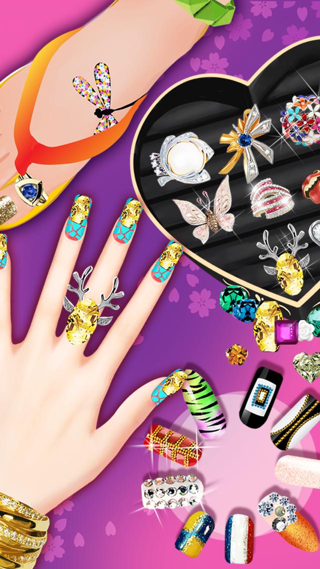 Nail Salon - Girls Gamesのおすすめ画像3