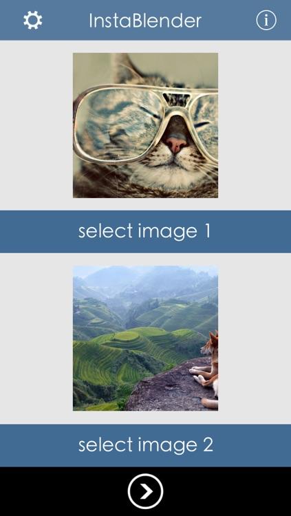 InstaBlender - Double Exposure and Superimpose Image Blender screenshot-3