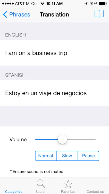 English to Spanish Translation Phrasebook