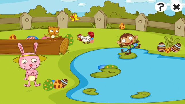 Active Easter! Learning games and puzzles for children age 2-5: Learn with bunny, eggs and rabbit