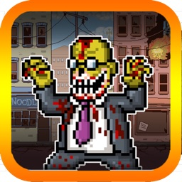 Zombie Run - Escape from Zombie War 2048
