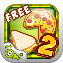 Pizza & Sandwich Cooking Story 2 - Free Time Management & Food serving dress up game for kids and girls