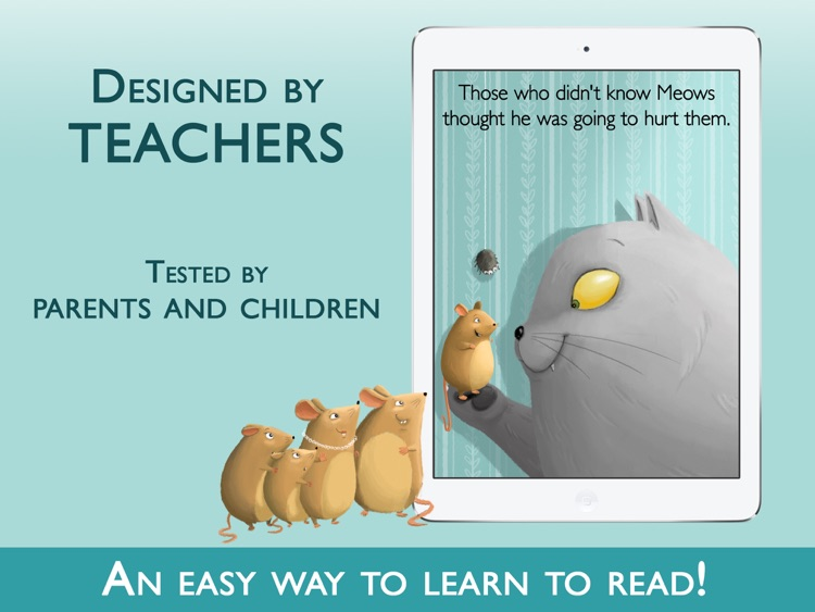 Teach me to read – Ferocius & Meows Cat, an Educational Montessori Tool with Activities and Books for Learn to Read screenshot-4