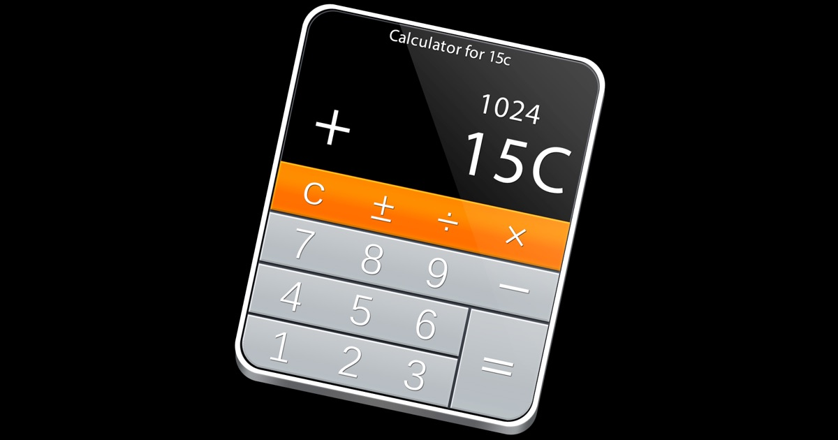15c scientific calculator pro mac app store. Black Bedroom Furniture Sets. Home Design Ideas