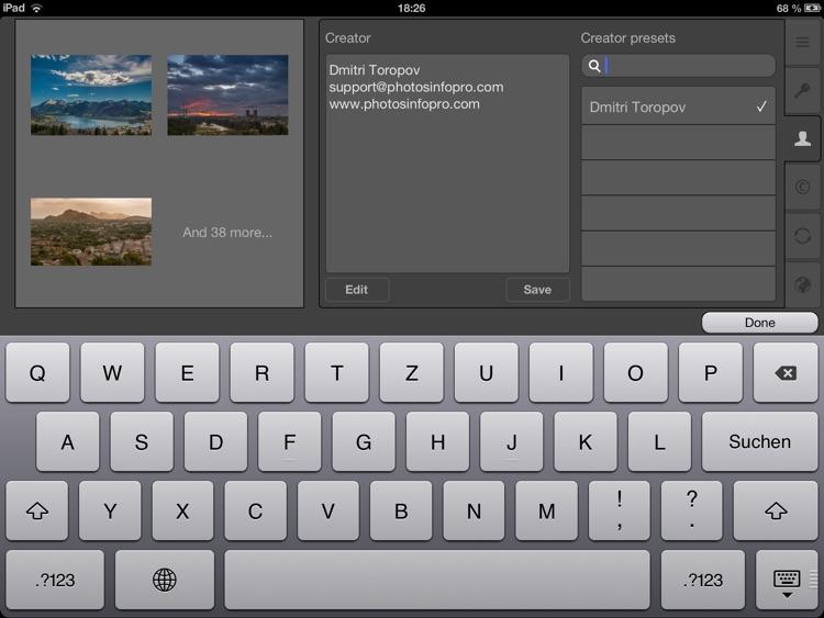 PhotosInfoPro screenshot-4