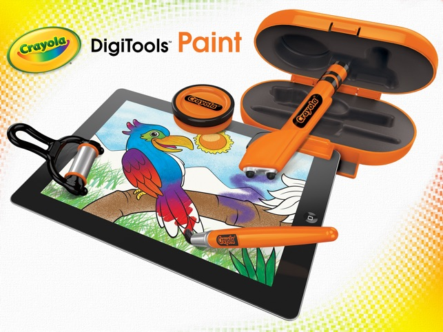 Crayola DigiTools Paint on the App Store