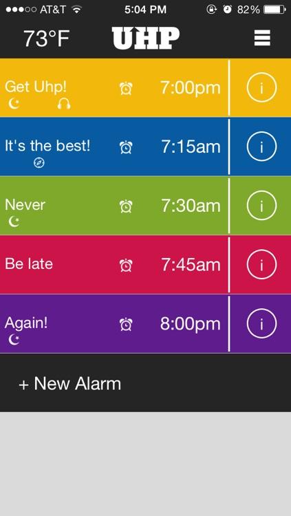 Uhp Alarm Clock Pro