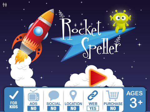 Rocket Speller – Best Apps For Kids