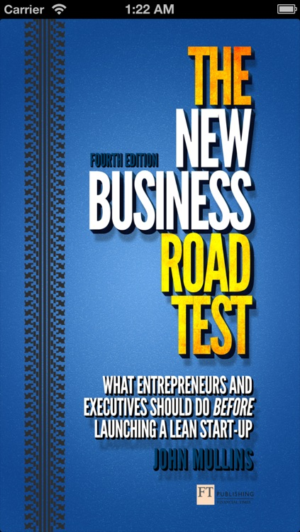 The New Business Road Test - John Mullins