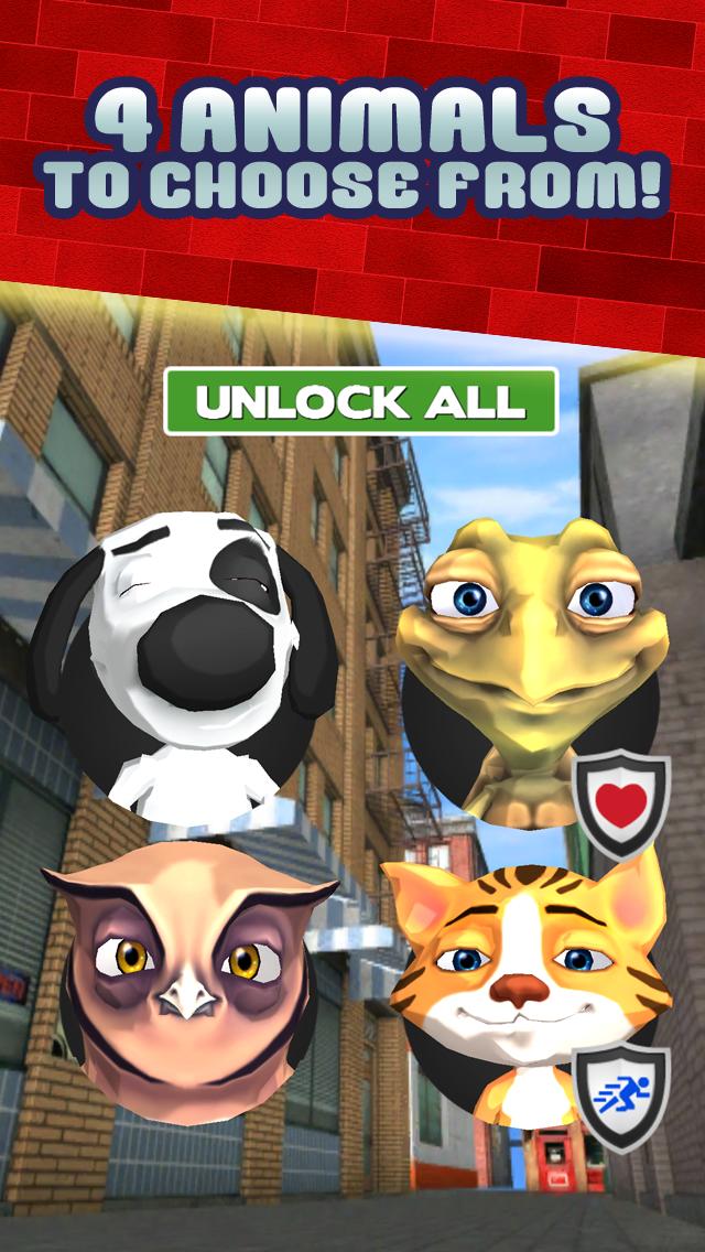 楽しい子犬犬猫レスキュー動物ゲーム無料による子供のための幸せな市動物ペットゲームのおすすめ画像4