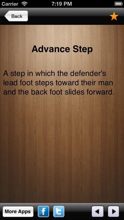 Basketball Term screenshot-3