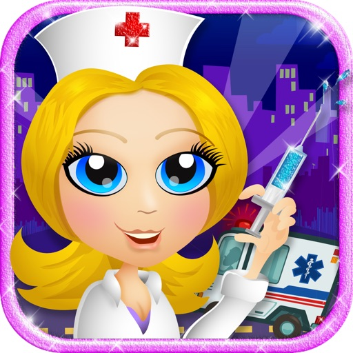 Celebrity Ambulance - Emergency Trauma Nurse & Doctor Games - Save a Life