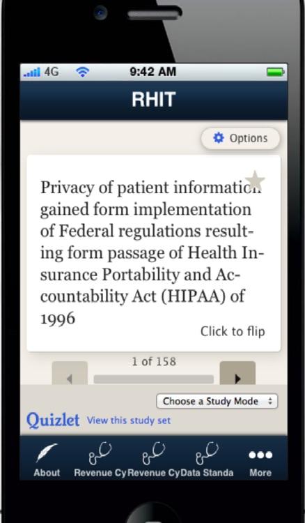 RHIT- Registered Health Information technician screenshot-3