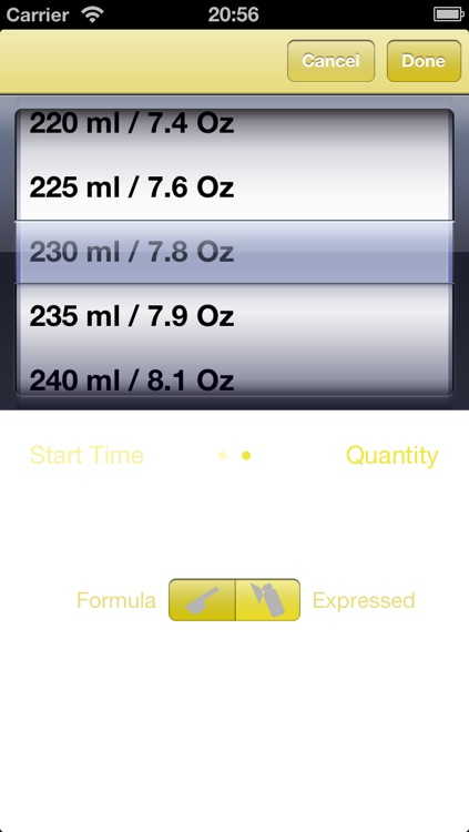 Bottle Feeding Friend - Baby feed tracker screenshot-3