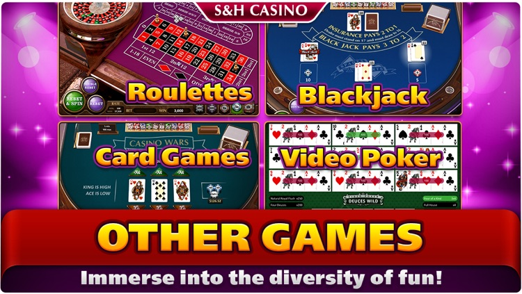 S&H Casino - FREE Premium Slots and Card Games