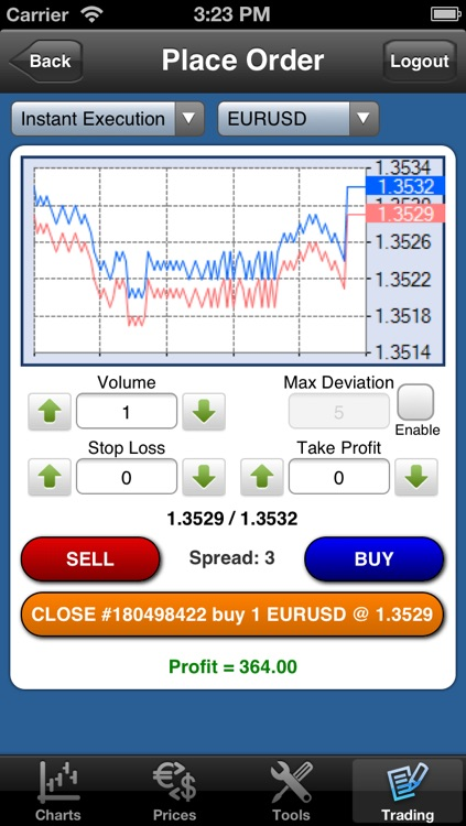 Forex On The Go Premium screenshot-3