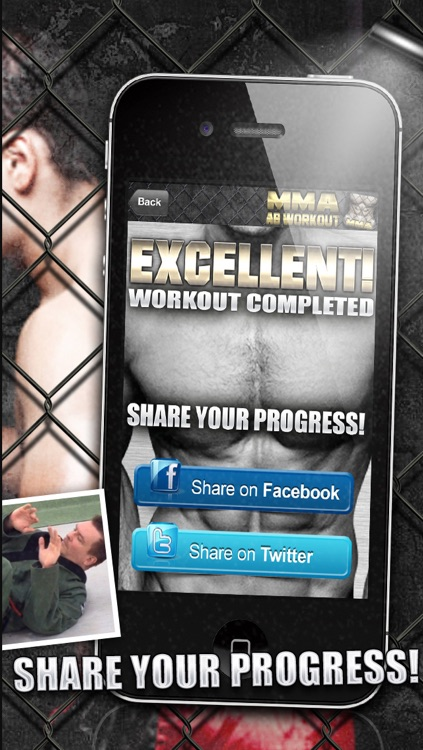 Ab Workouts MMA PRO - Core Strength Abdominal Flex Training & Personal Abs Trainer screenshot-4