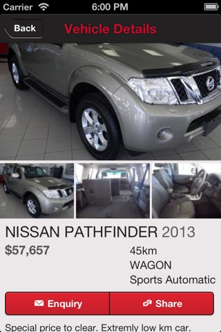 Screenshot of Grand Nissan