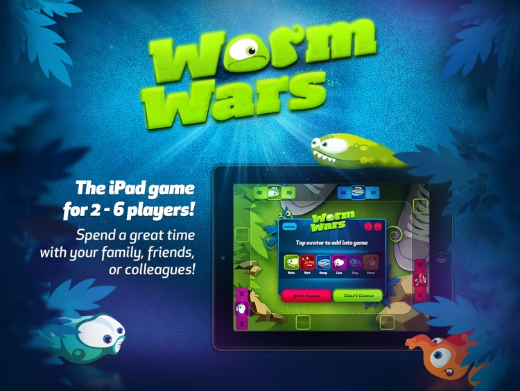 Worm Wars screenshot-0