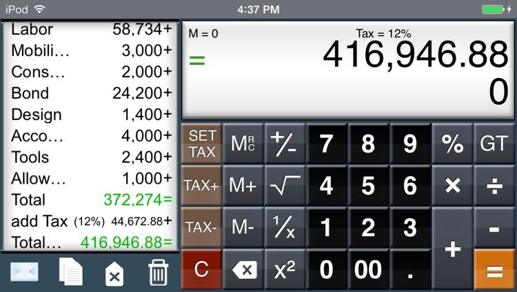 EZ-Digits HD Calculator screenshot-3