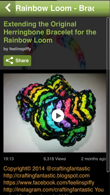 Rainbow Loom: Bracelets Edition (Video Tutorials, Designs & Lessons) screenshot-3
