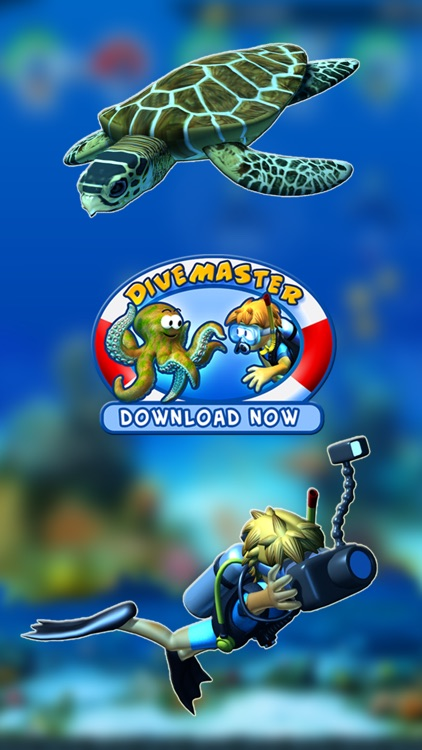 DiveMaster - Guide scuba divers in the best underwater deep sea diving adventure game, collect and share photos about ocean animals screenshot-0