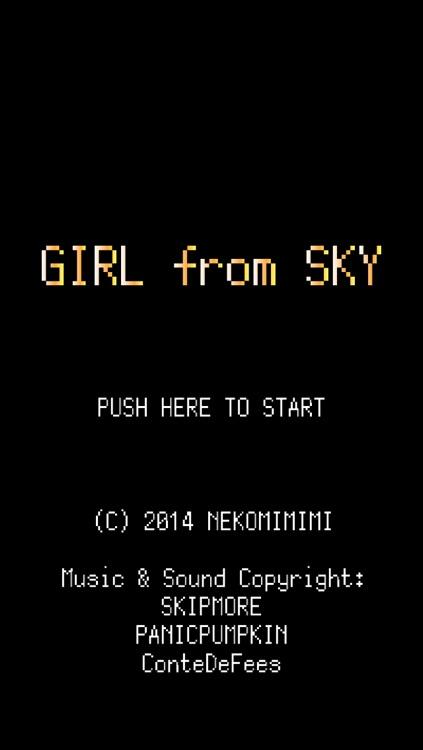 Girl from Sky