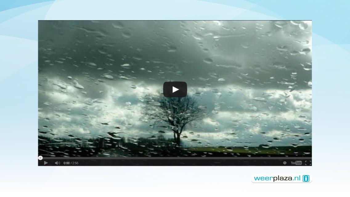 Weerplaza Chromecast met het weerjournaal, buien en regenradar en het weer voor jouw plaats Screenshot