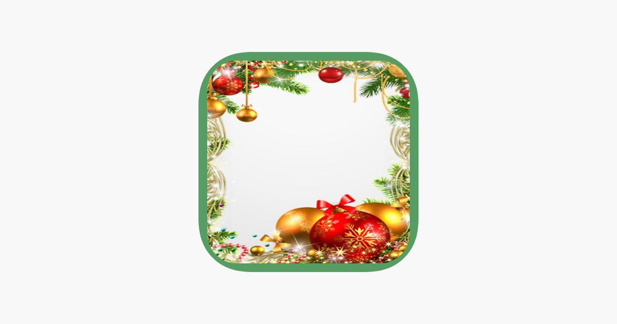 Weihnachten und Neujahr Bilderrahmen im App Store