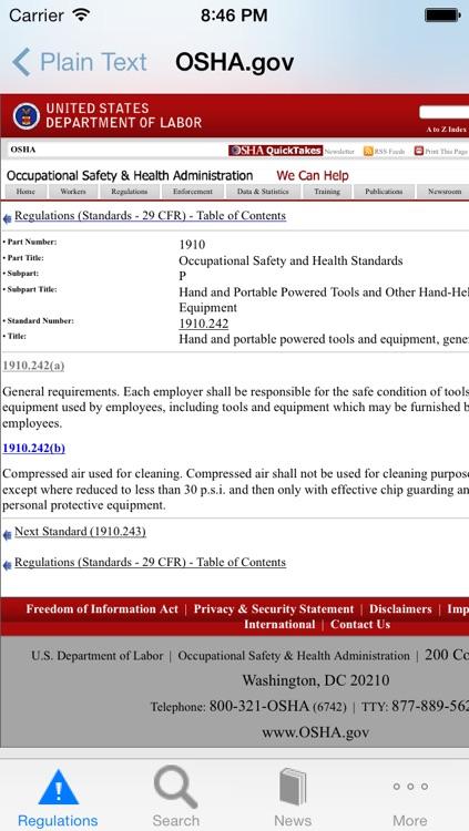 OSHA Safety screenshot-3